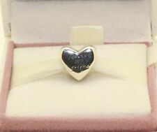 AUTHENTIC PANDORA CHARM Heart silver charm, 791518  #106