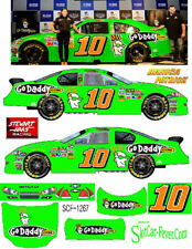 CD_1267 #10 Danica Patrick Go Daddy 2012 Sprint Cup Chevy   1:24 Scale Decals