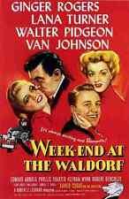 Película de fin de semana en el Waldorf 01 A4 10x8 impresión fotográfica