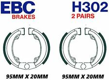 EBC H302 (FRONT/REAR) Brake Shoes (2 Pairs) Quality Honda NV 50 MSD STREAM 1984