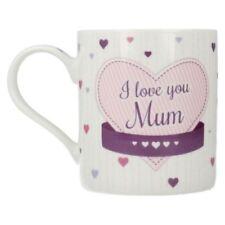 Mugs de cuisine en porcelaine à motif Coeurs