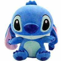 Cute Lilo & Stitch Plush Blue Kid Girl Soft Stuffed Toy Gift 30cm Decor Toy Xmas