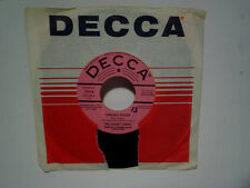 THE SWEET THREE-Spring Fever PROMO decca label #31938 45,with sleeve,r&b soul