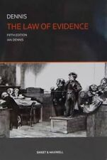 The Law of Evidence by Professor Ian Dennis 9780414025622 (Paperback, 2013)