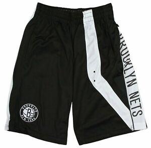 Zipway NBA Youth (8-20) Brooklyn Nets Chaz Athletic Basketball Shorts, Black