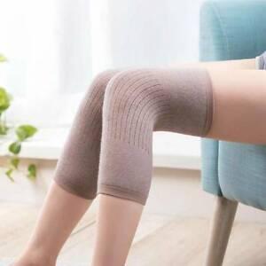 Mens Thermal Knee Warmers Joints Arthritis Leggings Socks Sleeves Support Aid