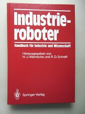Industrieroboter Handbuch für Industrie und Wissenschaft 1990