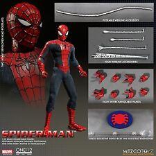 "ONE:12 COLLECTIVE SPIDER MAN 6"" action Figure MEZCO"
