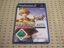 SHADOW HEARTS from the New World per PlayStation 2 ps2 PS 2 * OVP *