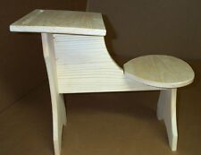 WOODEN CHILD'S DESK HAND MADE IN USA MPN 118 and White furniture, Boys & Girl