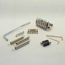 """6-String """"The Commander"""" Steel Block 2-Point Tremolo System Chrome"""