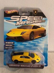 Hot Wheel's Speed Machines Lamborghini Murcielago LP 670-4 SV