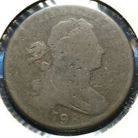 1798 1C Draped Bust Cent (54790)