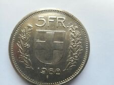 1968 @ 5 SWISS FRANCS - CONFOEDERATIO HELVETICA