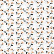 Moda Tissu Summer Breeze V RENONCULE BLEU MARINE-par 1//4 mètre