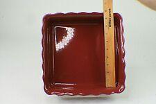 Paula Deen Ceramic Baking Dish 9x9 3 Quart Microwave Dishwasher Safe No Box  s7