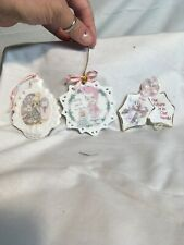 Precious Moments Christmas Ornaments: Lot of 3 2) 1994 and 1) 2000