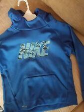 NWT Boy's Size 4 Nike hoodie, blue, therma, dri-fit
