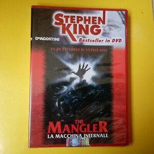 DVD Stephen King DeAgostini The Mangler la Macchina Infernale Nuovo Blisterato