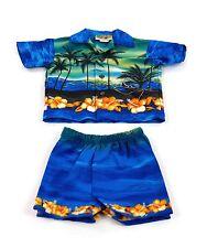 Boy's Hawaiian Sunset Cabana Set (Shirt and Pants)