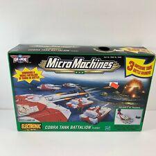 GI Joe Micro Machines Cobra Tank Battalion Playset #79949 Box Has Shelf Wear