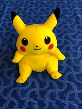 "Hasbro 1998 Nintendo Pokemon MINI PIKACHU 4"" Plush STUFFED ANIMAL Toy"