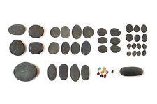 Motor De Arranque Set Piedra Caliente - 43 piedras de basalto natural genuino de Perú-Sth America