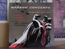WARSAW CONCERTO DAVID HAINES PARIS - LP P-2100 SOMERSET