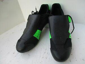 Carratti Black cycling shoes excellent condition EU46 Flat pedals L'Eroica
