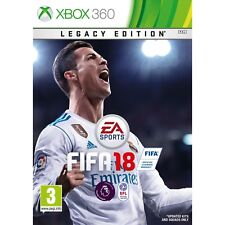 FIFA 18 Legacy Edition Xbox 360 Now Released 29th September