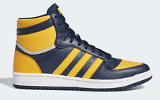 NEW! adidas TOP TEN HI RB FV4926 Collegiate Navy Active Gold Silver Shoes a1