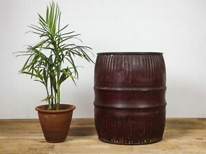 Original Vintage Rustic Metal Dolly Tub Planter (3 AVAILABLE) MILL-1157