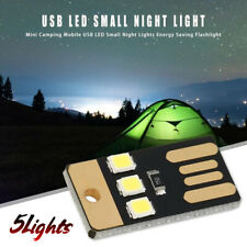 Tent Camping Light Rechargeable Ultra-thin USB LED Night Lights For Power Bank