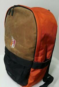 Timbuk2 OS Waxed Canvas Backpack W/ Dunkin Donuts Logo