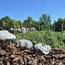 Fiddlehead Fairy Garden Accessories - Wire and post fence