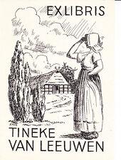 Ex Libris - Tineke van Leeuwen - Dokument Grafik Bauer Skandinavien