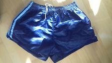 Adidas Shiny Nylon Shorts West Germany Glanz Size Large D6