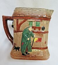 Vintage Royal Daulton Oliver Twist Pottery Water Pitcher #38