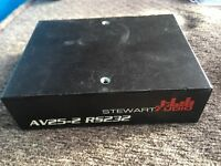 Stewart Audio AV25-2 RS232  Amp  Sub Compact Amplifier Class D 25w x 2 @ 8 ohm