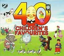 40 CHILDREN'S FAVOURITES - 2 CD BOX SET - I AM THE MUSIC MAN & MORE