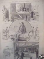 1886 Leslies Illustrated Newspaper Mt. Joy PA abuses