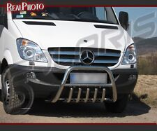 MERCEDES SPRINTER 2006-2013 BULL BAR,NUDGE BAR,A BAR + GRATIS!!! STAINLESS STEEL
