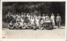 Southborough. Crothers VAD Military Hospital. Outdoor Group by Alec Brook. Bed.