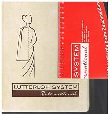 LUTTERELOH SYSTEM INTERNATIONAL 1978 - SUP. N.150 - 280 MODELLI D'EPOCA SARTORIA