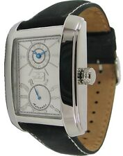 Gallucci Automatik Unisexuhr mit 12 und 24 Stundenanzeige Armbanduhr Lederband