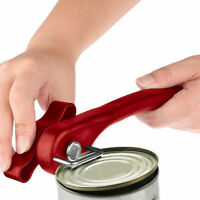 Ergonomic Manual Can Opener Cans Lid Lifter Smooth Cut Side Home Best Edge E2G4