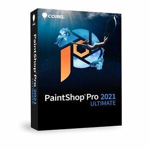 COREL: PaintShop Pro 2021 Ultimate  Windows DVD Multilingual EAN 0735163159172
