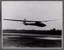 SLINGSBY GULL GLIDER LARGE VINTAGE YORKSHIRE POST ORIGINAL PRESS PHOTO RAF