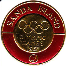 Sanda Island, Scotland 1968 Summer Olympic, Mexico 1968, MNH