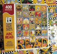 Springbok Family Puzzle - Mary Engelbreit ABC READ~400 pc COMPLETE